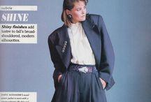 Fashion 1980s.