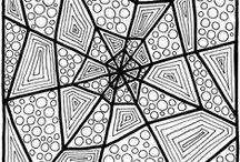 Pattern - Zentangle & Doodle