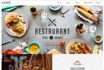 HoReCo / Типовые решения сайтов для ресторанного бизнеса
