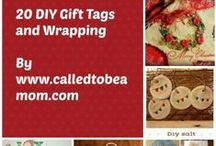 DIY Gifts / DIY Frugal Gifts, Make Your own Homemade, Handcrafted gifts and crafts