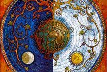 Mandala art / Circle of life / by Corrie Bouwmeester