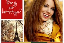 Colour analysis / Autumn type / Spring type / by Corrie Bouwmeester