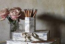 Bespoke Desk Stationery / Custom handmade stationery
