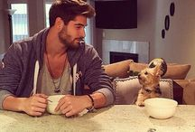 Ils ont du chien! / Men and their dogs!