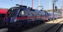 ÖBB Unterwegs mit den Eisenbahnen / Informationen über Eisenbahnen in Europa.