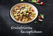 """Angepflanzt + aufgetischt: Rezepte / Mit Gemüse und Kräutern aus dem eigenen Garten lassen sich schnell und einfach wunderbar aromatische Gerichte zaubern. Im Rahmen unserer Aktion """"Angepflanzt + aufgetischt"""" möchten wir euch unseren besten Rezeptideen zeigen!"""