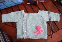 Knitting patterns for babies and toddlers