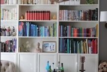 Libraries/bookcases