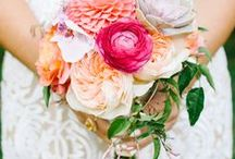 our work | bouquets / professional shots of some of our favorite bridal & wedding party bouquets