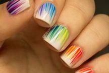 Make up, nails,