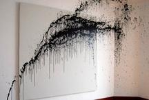 On the wall - op de muur / Interieurontwerp | interieuradvies | nieuw interieur | kleurenplan | kleurcombinaties | plattegrond |  3d-visualisaties | interieurontwerper | interieurarchitectuur | interieurarchitect | verhuizing | verhuizen | woonideeen | behang | verf | hout | schilderijen | creatieve uitspattingen