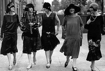 Style ~ 1920's / (Disclaimer: I do not claim copyright or ownership of any content on any of these boards) / by Andréa Fagim