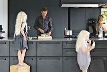 Kitchen - Keuken / Interieurontwerp | interieuradvies | nieuw interieur | kleurenplan | kleurcombinaties | plattegrond |  3d-visualisaties | interieurontwerper | interieurarchitectuur | interieurarchitect | verhuizing | verhuizen | keuken | keukenopstelling | landelijk | strak | industrieel | kraan | fornuis