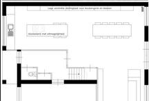 Ground plan - Slim indelen | Plattegrond / Interieurontwerp | interieuradvies | nieuw interieur | kleurenplan | kleurcombinaties | plattegrond |  3d-visualisaties | interieurontwerper | interieurarchitectuur | interieurarchitect | verhuizing | verhuizen | woonideeen | plattegrond | 2d