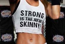 Strong and Fit / Work out motivation. / by Brenda Bickham