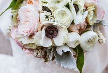 inspiration | soft + subdued / subtle hues + classic palettes for the big day