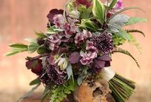 inspiration | rich + romantic / rich colors + dramatic jewel tones for the big day