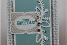 CTMH Inspiring Christmas/Winter Cards / Close To My Heart cards for Christmas or winter that I find inspiring