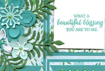 Botanical Blooms (SU) / Cards created using the Botanical Blooms stamp and/or die set