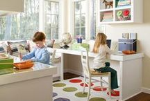 Organization - School & Homeschool / Tips & DIY ideas for homeschooling organization and classroom organization.