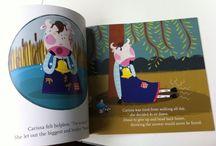 Claire Chrystall illustrations / Children's books