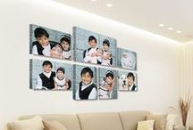 Canvas Gallery Wall Displays
