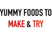 Food to Make & Try / Quick, easy, and inexpensive recipes to make at home or in College Village.