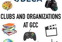 Clubs and Organizations / There are over 60 clubs and organizations that all students can get involved in at GCC!