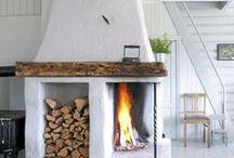 takka/ fireplace