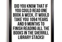 Did You Know... / Interesting facts about Sherrill Library!