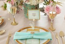 Elegant Table Settings / Everything needed to create a beautiful dining table.