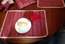 Tovagliette / Tovagliette home Made