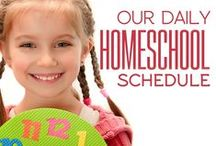 Planning a Homeschool Year / Tips for planning a successful homeschool year.