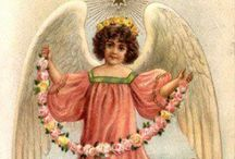 Christmas  Angels Postcards / by Lorraine Lehman