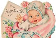 The Vintage Sweet Baby / Vintage Baby Illustrations. These are so sweet. A lot of the illustrations are by illustrator,Charlotte Becker (1907-1984) / by Lorraine Lehman