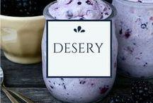 Desery / Sweet, healthy & delicious! / Najlepsze propozycje na zdrowe desery