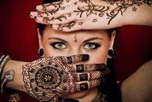 Henna حنة / Amazing Henna tattoo batterns