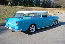 55, 56, 57 CHEVYS / Best Chevys ever made.  / by RICK