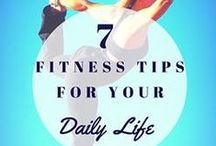 Workout Inspiration / Whether you're a gym junkie or like to squeeze in a workout at home, there are endless options for what you can do!