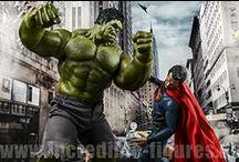 DC Universum trifft auf Marvel Universum