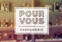 Pour Vous / Wunder ontwikkelde voor Pour Vous een vernieuwde merkstijl om het merk weer allure te geven. De stijl is geïnspireerd op de Art-Nouveau periode in Parijs.