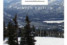 Logan & Finley Winter Edition Lookbook / All sorts of our favourite things to enjoy this winter.