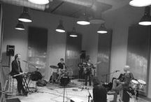 Sneak a peek at rehearsal goods / Impressions of rehearsals at various locations & songwriting