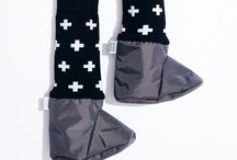 mimiTENS booties AW15 / very rad mittens and booties for kids
