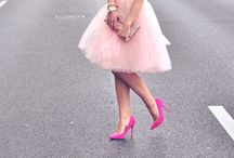 Tulle skirts / Poofy and chic tulle skirts and outfit inspiration