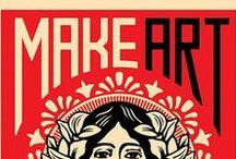 Make art - not war