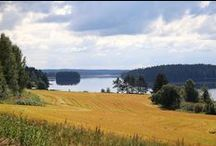 Finnish landscape, maisemakuvia suomesta / my landscape photos, maisemakuviani suomesta