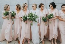 Be my bridesmaid / Everything a bride needs for her maids. From ideas on how to ask in style to the finishing touches on the big day.
