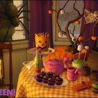 Meubles et clutters d'halloween / Divers objets en tout genre sur le thème d'halloween.