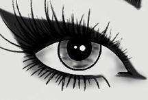 Face Charts / Face Charts para bocetar maquillajes